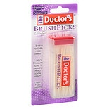 The Doctor's Brush Picks Interdental Toothpicks