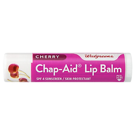 Walgreens Chap-Aid Lip Balm SPF 4 Cherry, Fresh