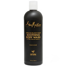 Organic African Black Soap Shea Butter Wash