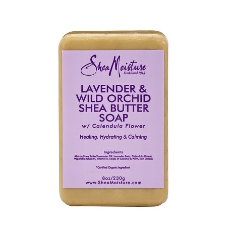 SheaMoisture Lavender & Wild Orchid Shea Butter Soap