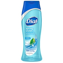 Dial Antibacterial Body Wash With Moisturizers Spring Water
