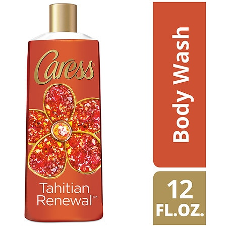 Caress Exfoliating Body Wash Tahitian Renewal