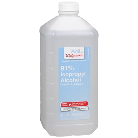 Walgreens Isopropyl Alcohol 91%