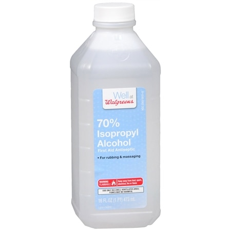 Walgreens Isopropyl Alcohol 70% First Aid Antiseptic