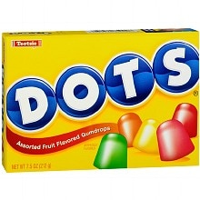 Dots Assorted Fruit Gumdrops Candy