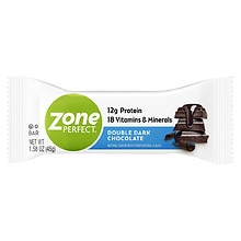ZonePerfect Dark All-Natural Nutrition Bar Double Dark Chocolate