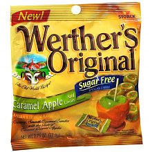 Werther's Original Sugar Free Hard Candies Caramel Apple
