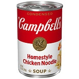 Condensed Soup Homestyle Chicken Noodle