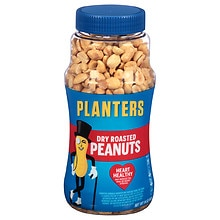 Planters Dry Roasted Peanuts Dry Roasted