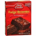 Betty Crocker Traditional Chewy Fudge Brownie Family Size Mix