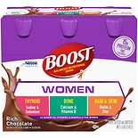 Boost Calorie Smart Balanced Nutritional Drink Rich Chocolate,8 oz Bottles