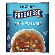 Progresso Traditional Beef and Vegetable Soup
