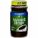 Maxwell House Instant Coffee Decaffeinated Original