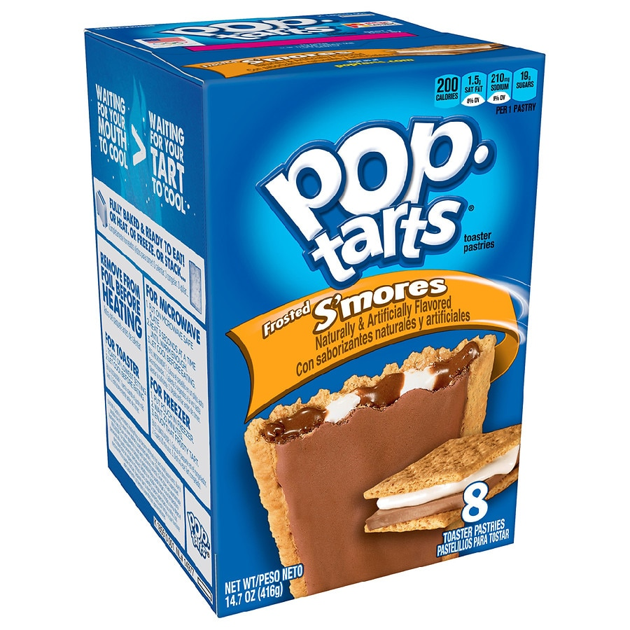 Pop Tarts Toaster Pastries S'mores | Walgreens