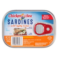 Chicken of the Sea Sardines in Oil Smoked