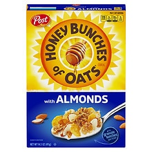 Honey Bunches of Oats Cereal with Almonds