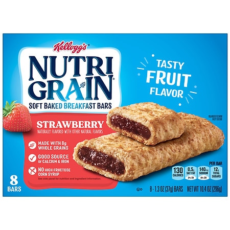 Nutri-Grain Cereal Bars Strawberry,8 pk
