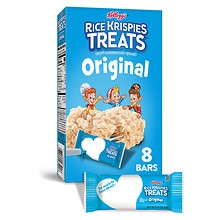 Kellogg's Rice Krispies Treats Crispy Marshmallow Squares 8 Pack Original