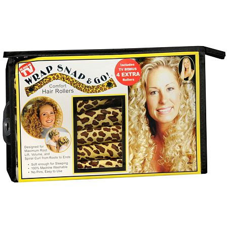 Wrap Snap & Go! Comfort Hair Rollers
