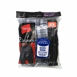 Hanes Men's Boxers Medium 32-34 Blue Plaid