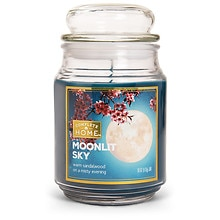 Tranquil Retreat Layered Jar Candle Indigo Nights, Light Blue