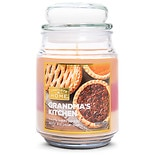 Patriot Candles Layered Jar Candle Pumpkin Roll Orange