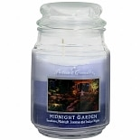 Patriot Candles Jar Candle Midnight Garden