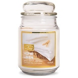 Patriot Candles Jar Candle Home Linens White