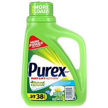 Ultra Purex Natural Elements Laundry Detergent Liquid Linen & Lilies