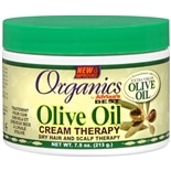 Africa's Best Organics Olive Oil Cream Therapy Dry Hair and Scalp Treatment