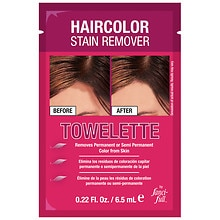 Haircolor Stain Remover Towelette