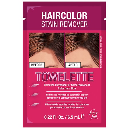 Fanci-Full Haircolor Stain Remover Towelette