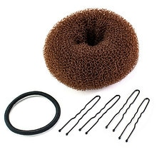Conair Hair Bun Maker System Brown