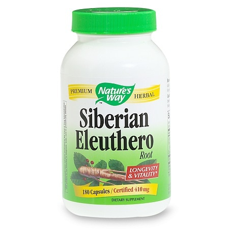 Nature's Way Siberian Eleuthero Root, Capsules