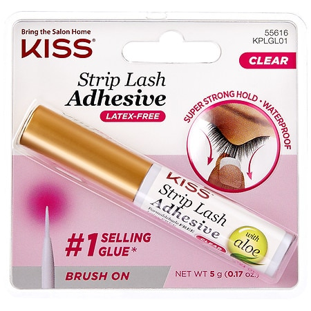 Kiss Ever EZ Lashes Strip Lash Adhesive Clear