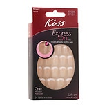 Kiss Express On Short Length Stick-On Nails Short Length Lady