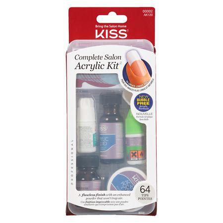 Complete Salon Acrylic Nail Kit by Kiss