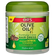 Organic Root Stimulator Olive Oil Creme Hair Dress