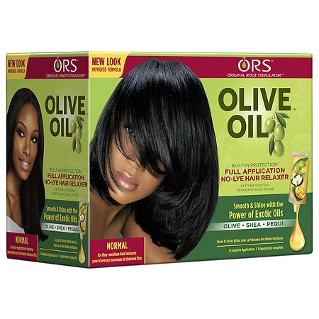 Organic Root Stimulator Built-In Protection No-Lye Hair Relaxer System, Normal