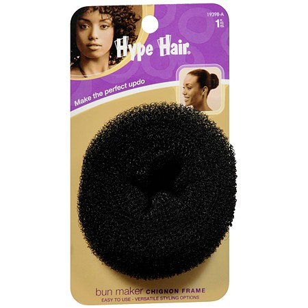 Hype Hair Bun Maker Black