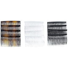 Scunci Effortless Beauty Side Hair Combs Assorted