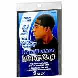WaveBuilder Wave Cap 2 Pack Black