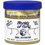 Worlds Of Curls Curl Activator Conditioner & Oil Sheen Gel