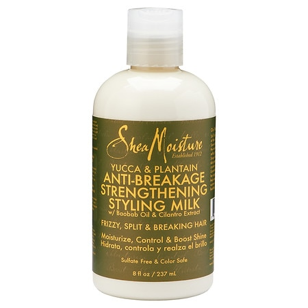 SheaMoisture Yucca & Plantain Anti-Breakage Strengthening Styling Milk