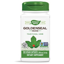 Nature's Way Goldenseal 400 mg Dietary Supplement Capsules