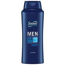 Suave Professionals Men 2-in-1 Shampoo and Conditioner Ocean Charge