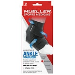 Mueller Sport Care Sport Care Adjustable Ankle Stabilizer One Size Black
