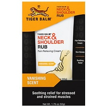 Neck & Shoulder Rub Pain Relieving Cream