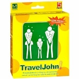 TravelJohn Disposable Vomit/Urine Eco-Bags