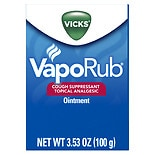 VapoRub Cough Suppressant Topical Analgesic Ointment